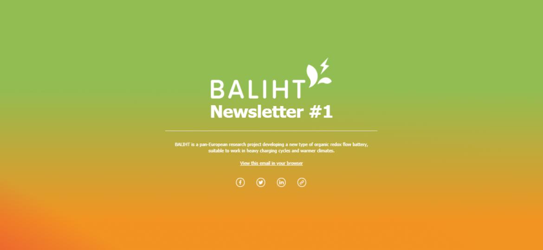 BALIHT newsletter #1
